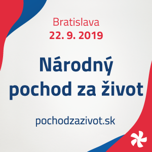 Národný pochod za život 2019